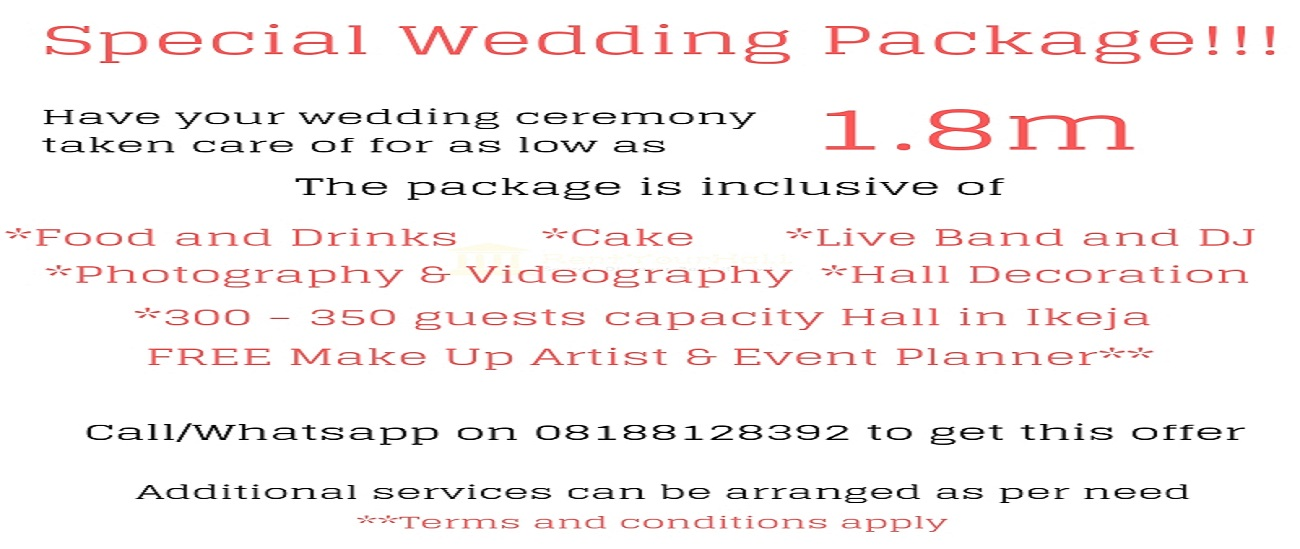 Promotional Wedding Packages
