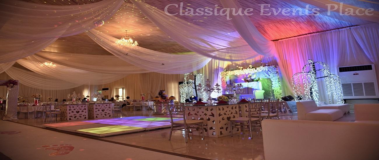 Classique Events Place Topaz Hall