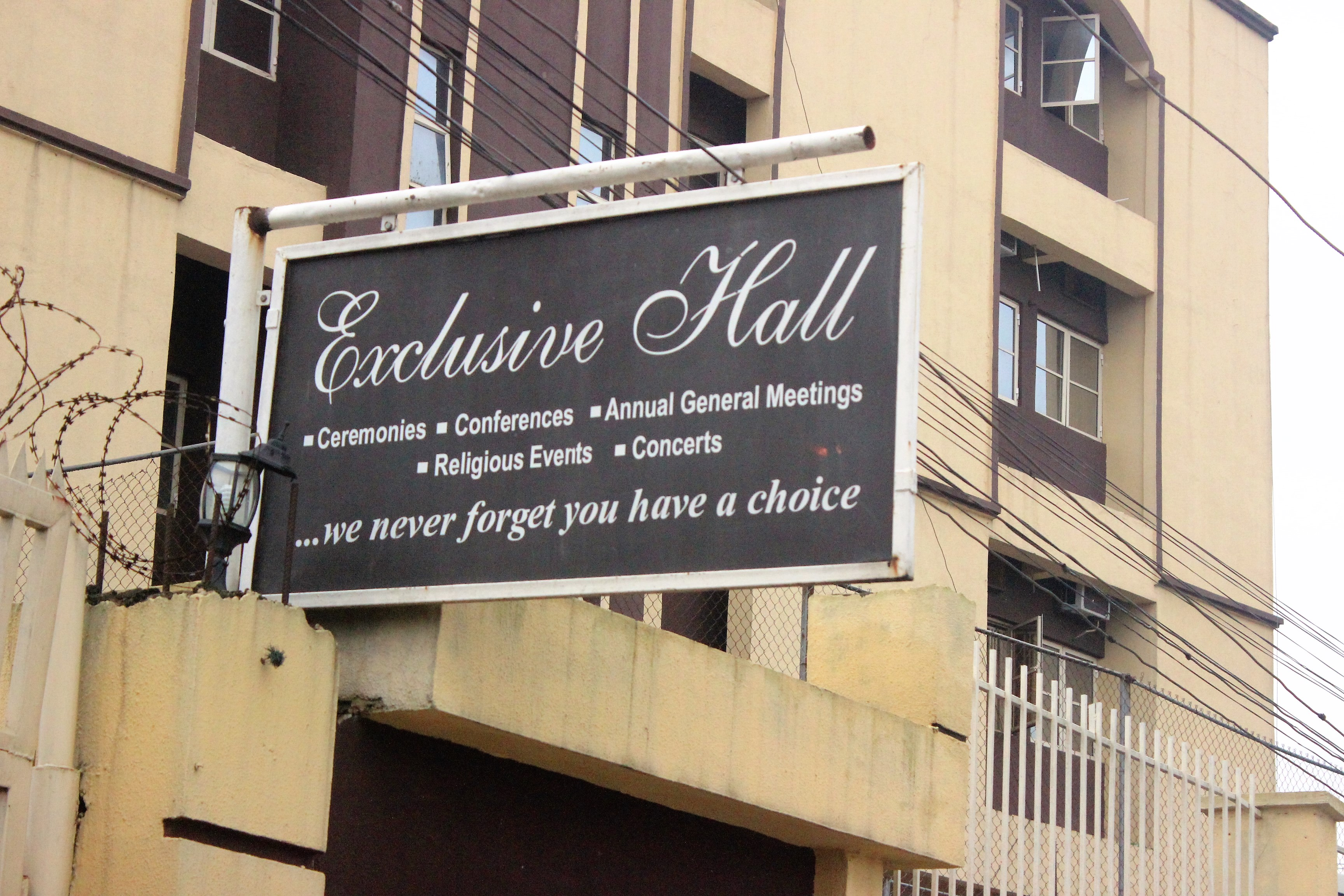 Exclusive Hall